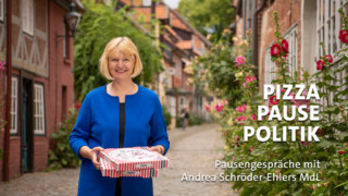 Andrea Schröder-Ehlers in der Lüneburger Altstadt