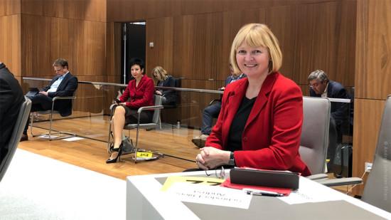 Andrea Schröder-Ehlers im Plenarsaal