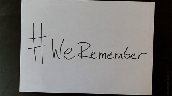 #WeRemember 75 Jahre Befreiung Auschwitz