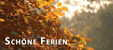 Schöne Herbstferien