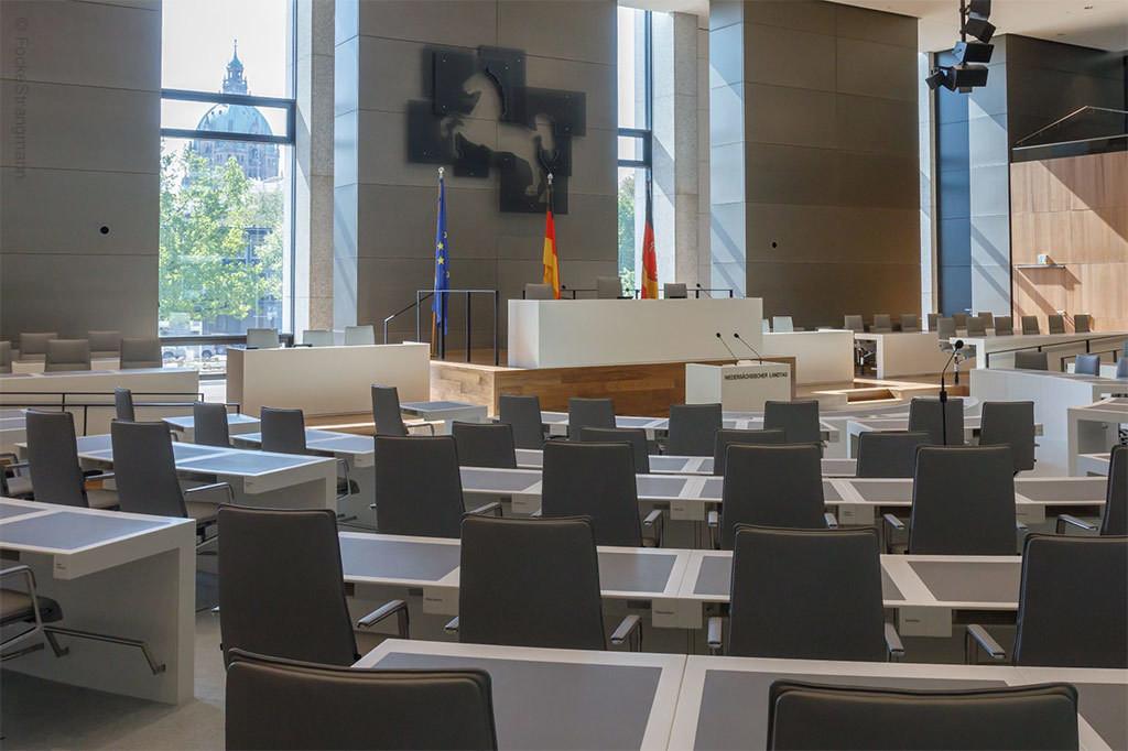 Plenarsaal Leineschloss Hannover