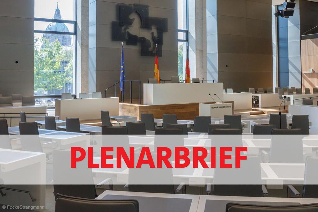 Plenarsaal im Leineschloss - niedersächsischer Landtag