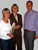 Hedi Wegener, Andrea Schröder-Ehlers und Dr. Matthias Miersch.